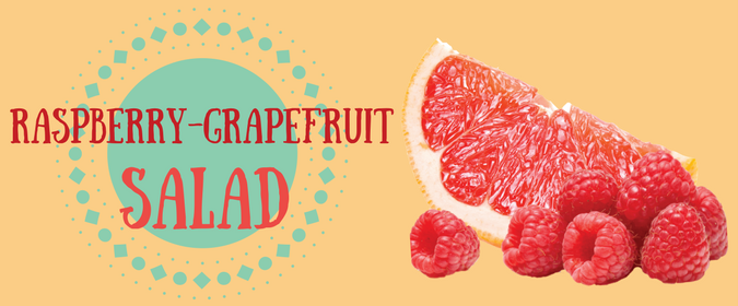 Raspberry-Grapefruit Salad